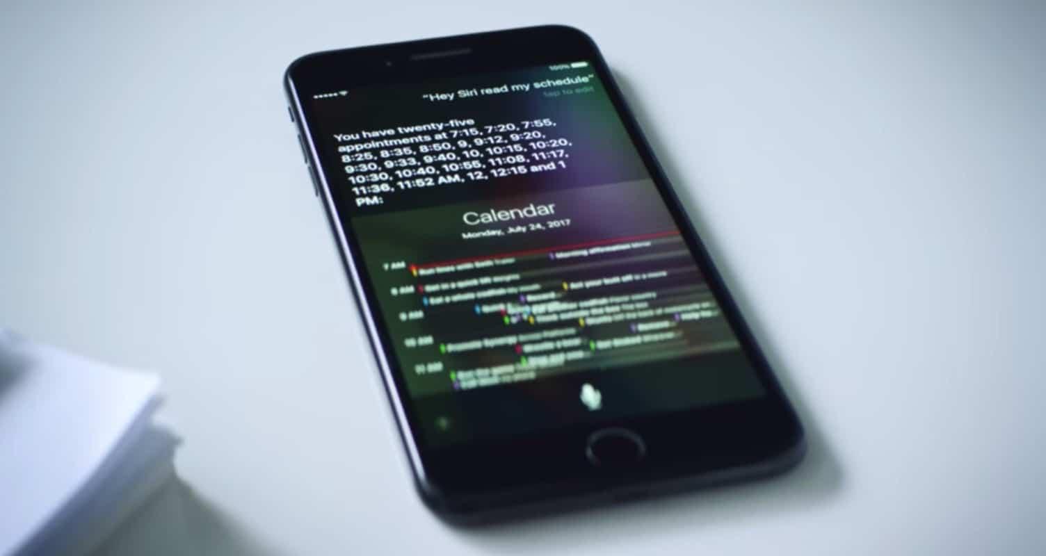 Calendrier Siri