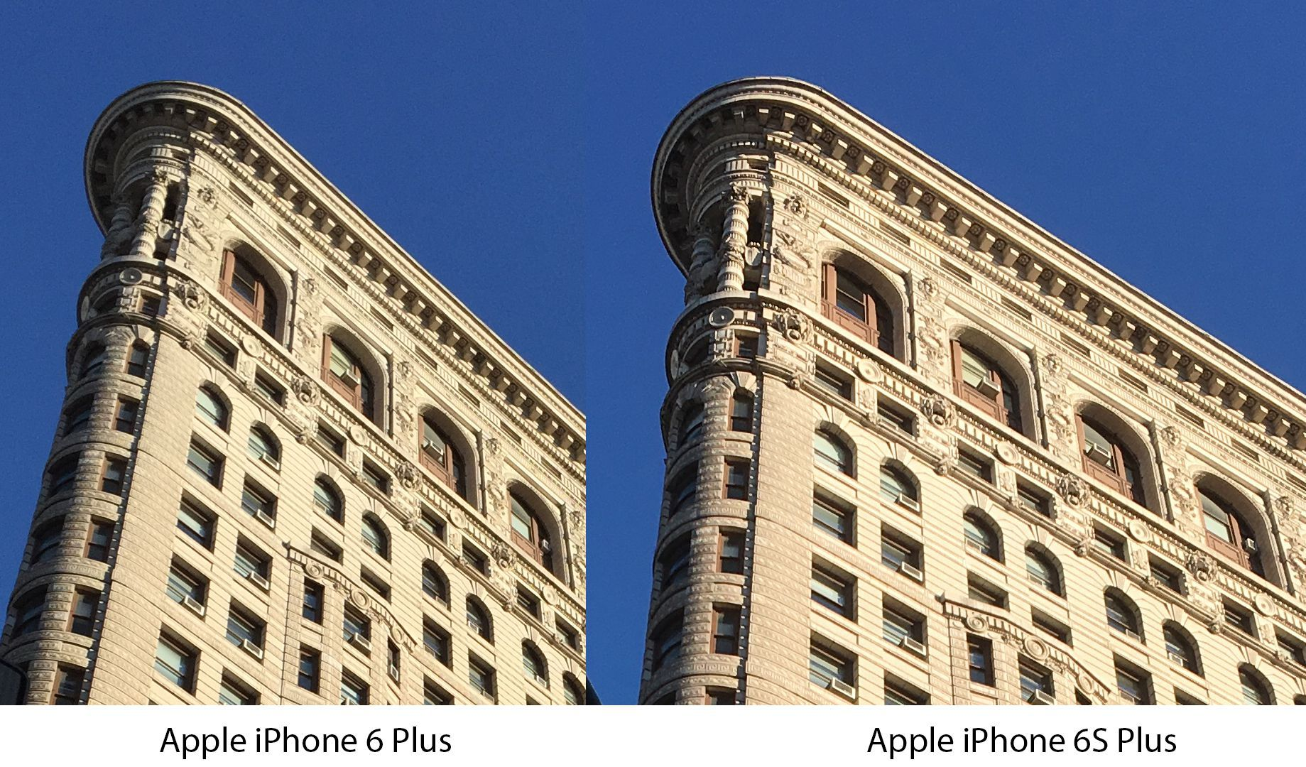 Comparatif photos iPhone 6 Plus et iPhone 6S Plus