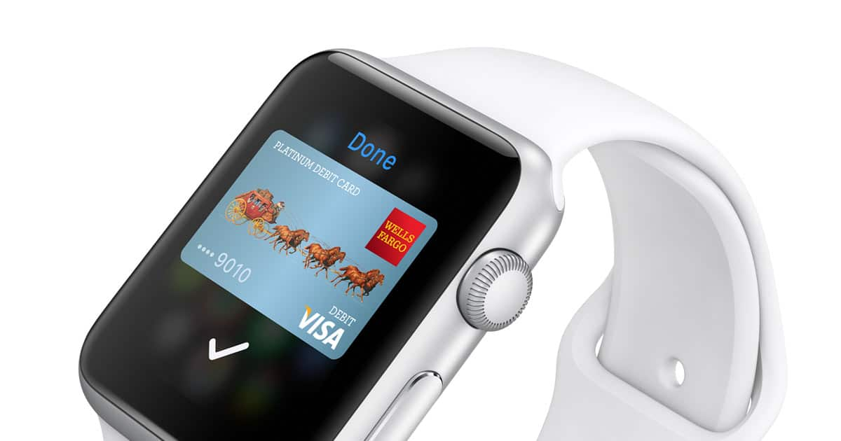 Apple Pay sur Apple Watch