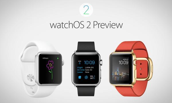 Apple Watch OS 2