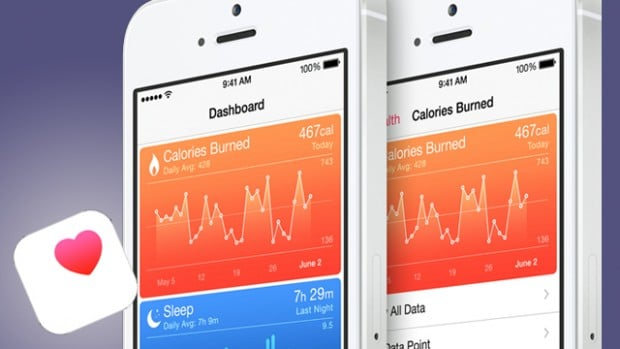 HealthKit iPhone sur iOS8
