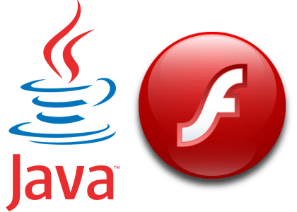 Java et Adobe Flash