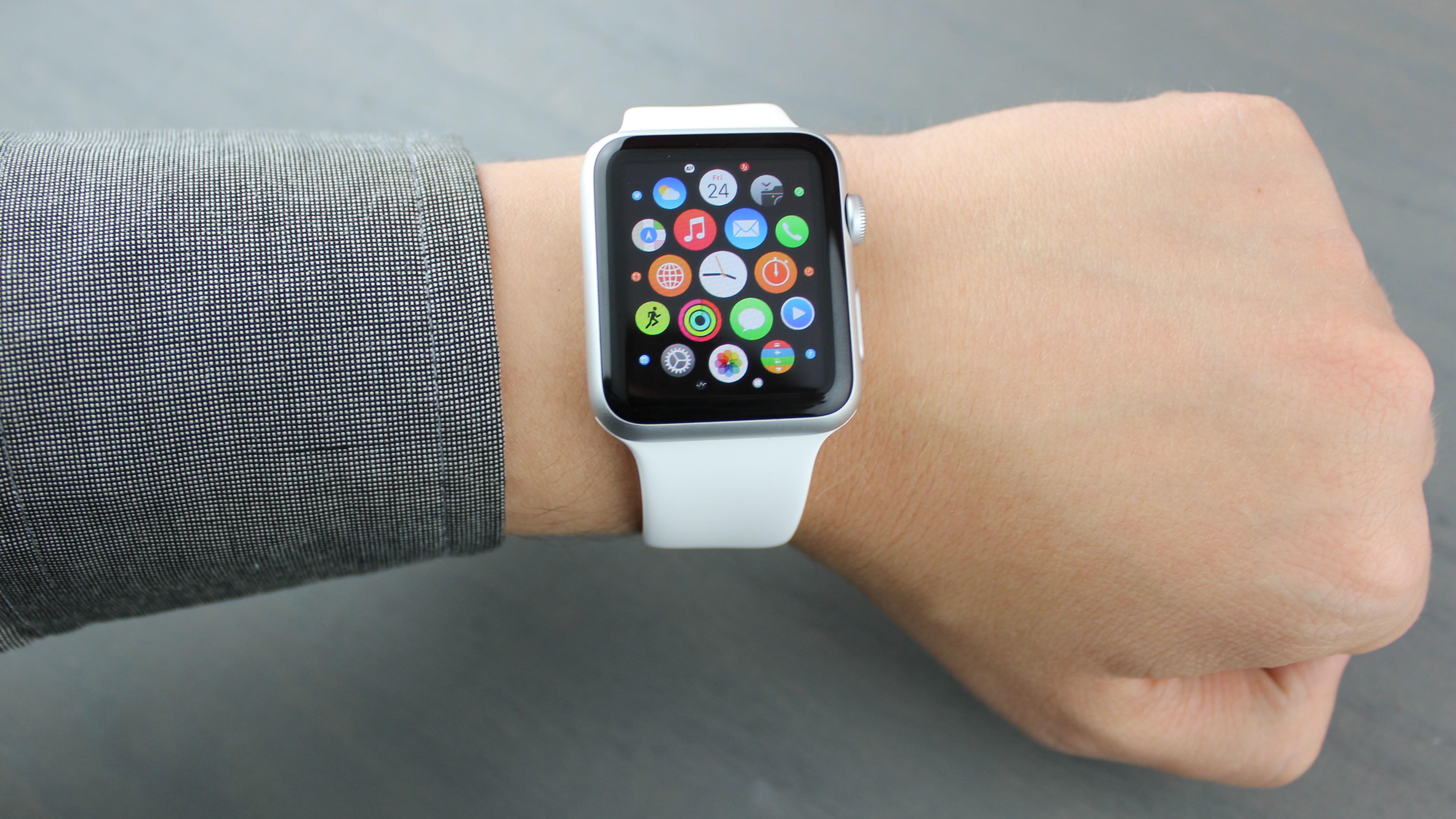 Widgets de l'Apple Watch