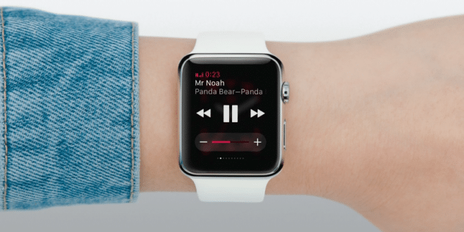 application Musique sur Apple Watch