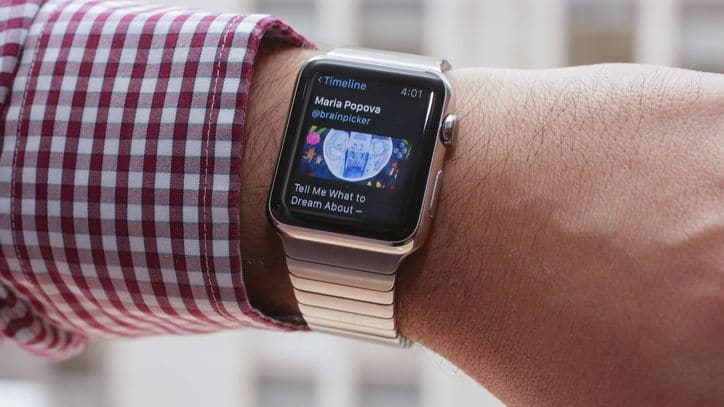 notifications Apple Watch