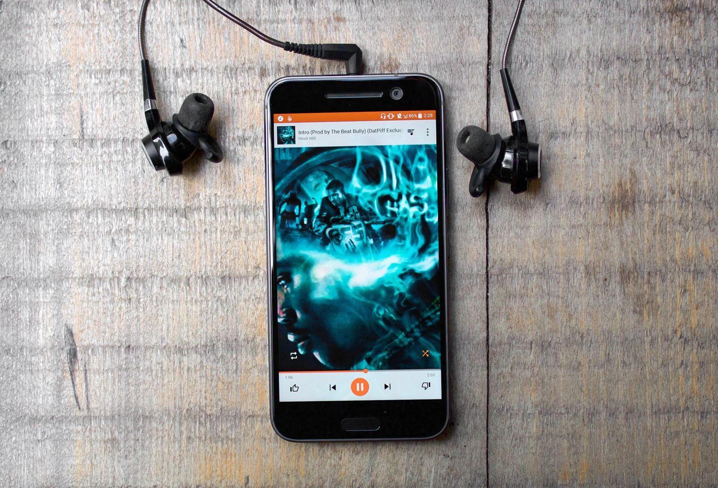 musiques sur Android