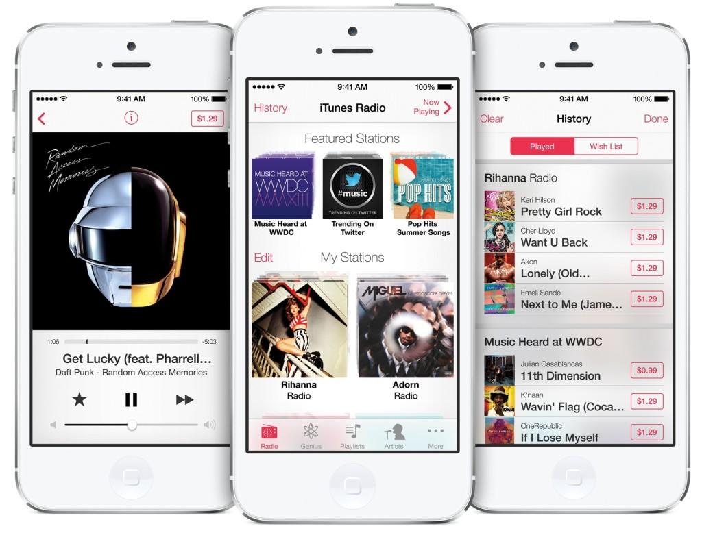 musiques sur iPhone