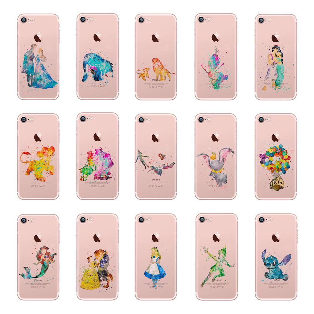 coques iPhone 5 5S et SE transparentes