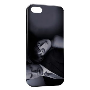 Coque iPhone 5/5S/SE 50 nuances de grey christian grey ana 2