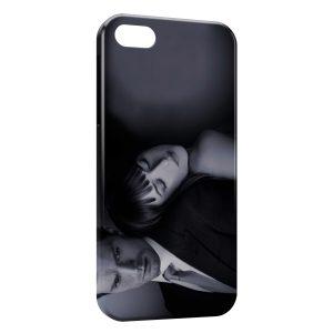 Coque iPhone 5/5S/SE 50 nuances de grey christian grey ana 2