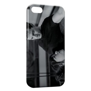 Coque iPhone 5/5S/SE 50 nuances de grey christian grey ana