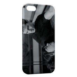 Coque iPhone 5/5S/SE 50 nuances de grey christian grey ana