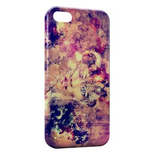 Coque iPhone 5/5S/SE Abstract Painting