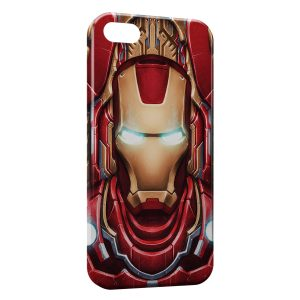 Coque iPhone 5/5S/SE Advenger Iron Man 3 Red