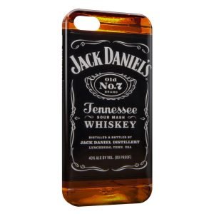 Coque iPhone 5/5S/SE Alcool Jack Daniel's