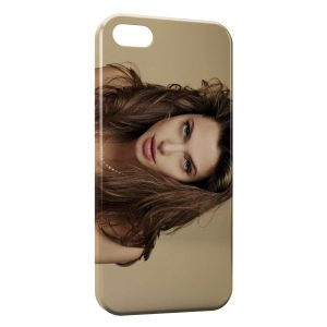 Coque iPhone 5/5S/SE Angelina Jolie