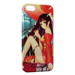 Coque iPhone 5/5S/SE Anime Girl Manga 2