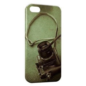 Coque iPhone 5/5S/SE Appareil Photo Design 2