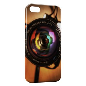 Coque iPhone 5/5S/SE Appareil Photo Design Style