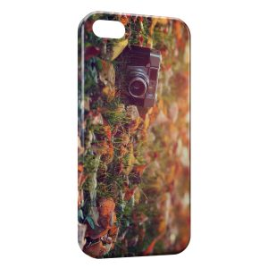 Coque iPhone 5/5S/SE Appareil Photo Vintage