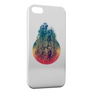 Coque iPhone 5/5S/SE Architecture 3D