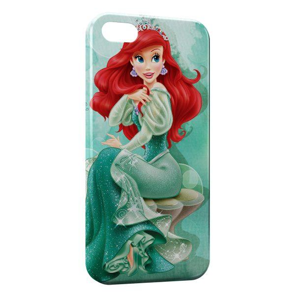 Coque iPhone 5/5S/SE Ariel La Petite Sirène 2