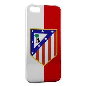 Coque iPhone 5/5S/SE Atletico de Madrid Football 3