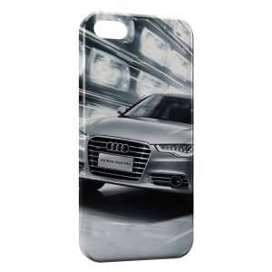 Coque iPhone 5/5S/SE Audi voiture sport