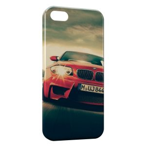 Coque iPhone 5/5S/SE BMW Voiture rouge
