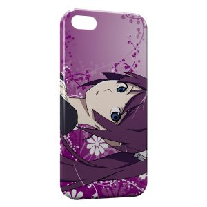 Coque iPhone 5/5S/SE Bakemonogatari Manga 2