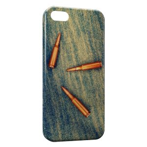 Coque iPhone 5/5S/SE Balles Fusil