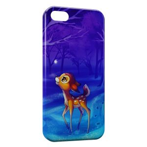 Coque iPhone 5/5S/SE Bambi Cute