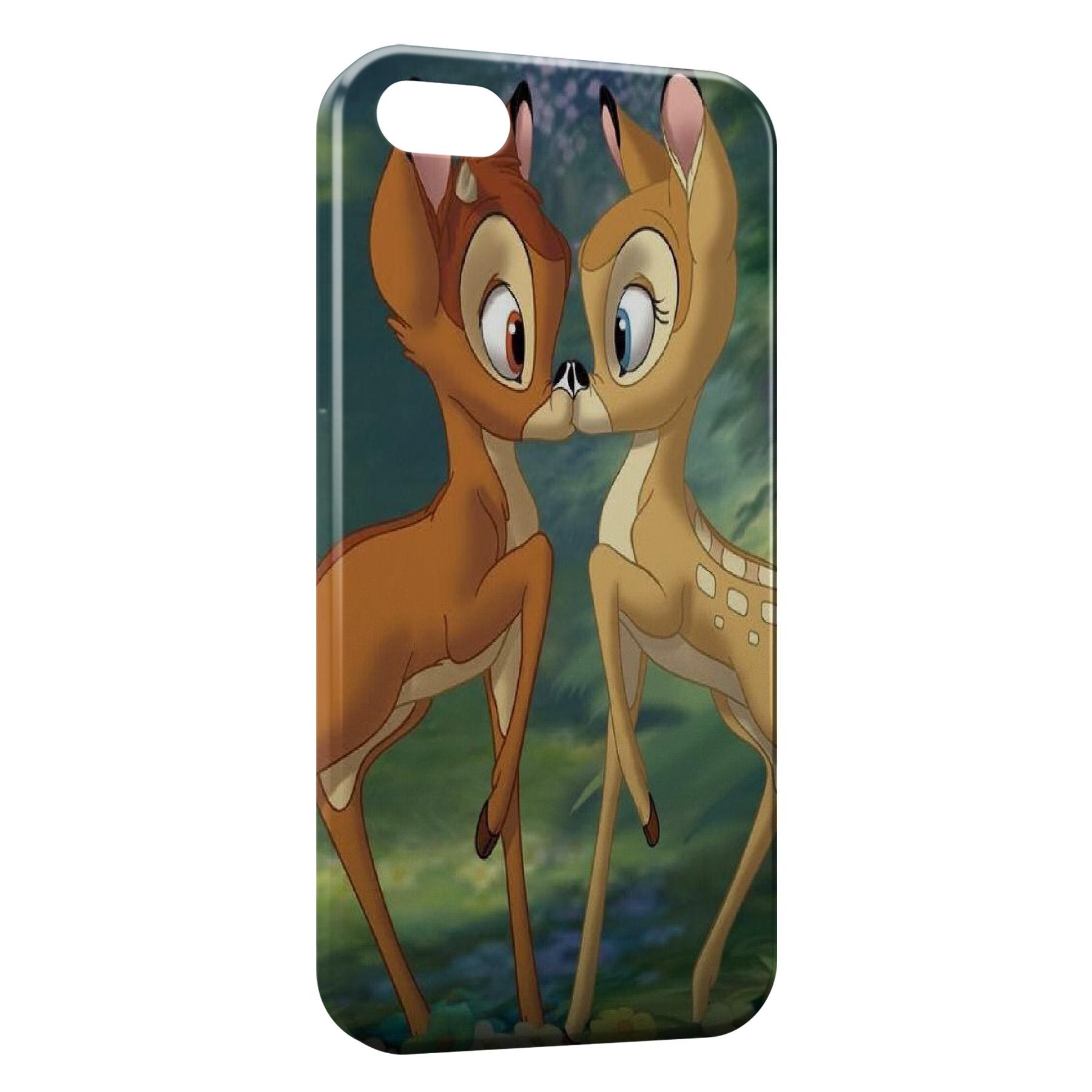 Coque iPhone 5/5S/SE Bambi Love 2