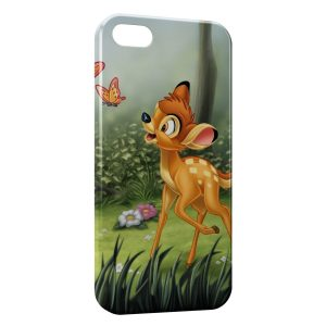 Coque iPhone 5/5S/SE Bambi Papillons