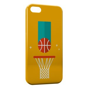 Coque iPhone 5/5S/SE BasketBall Light