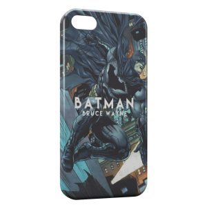 Coque iPhone 5/5S/SE Batman Bruce Wayne