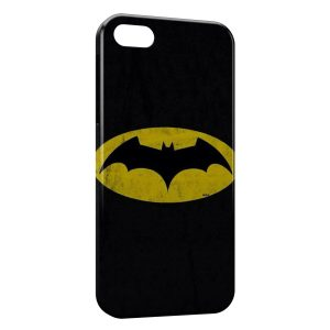 Coque iPhone 5/5S/SE Batman Logo Jaune