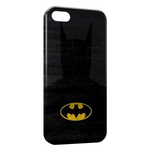 Coque iPhone 5/5S/SE Batman Ombre et Logo