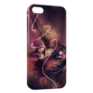 Coque iPhone 5/5S/SE Black Rock Shooter 2
