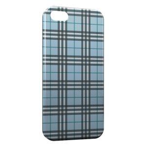 Coque iPhone 5/5S/SE Bleue Texture