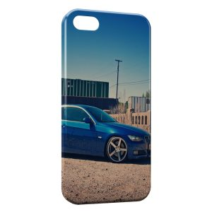 Coque iPhone 5/5S/SE Blue BMW Voiture