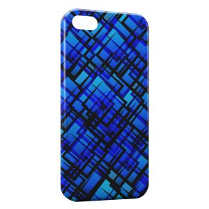 Coque iPhone 5/5S/SE Blue Dark Style