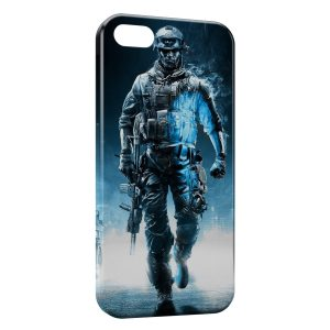 Coque iPhone 5/5S/SE Blue Soldier