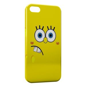 Coque iPhone 5/5S/SE Bob l'eponge 8