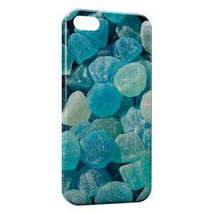 Coque iPhone 5/5S/SE Bonbons bleus