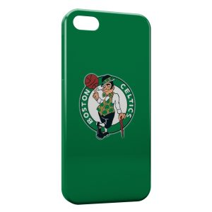 Coque iPhone 5/5S/SE Boston Celtics Basketball