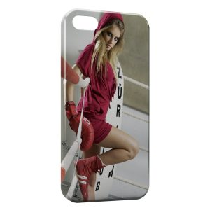 Coque iPhone 5/5S/SE Boxeuse
