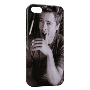 Coque iPhone 5/5S/SE Brad Pitt 2