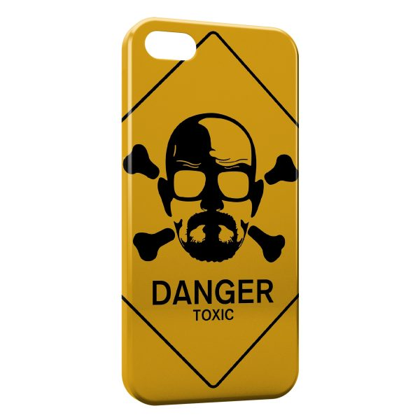 Coque iPhone 5/5S/SE Breaking Bad Danger Toxic