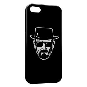 Coque iPhone 5/5S/SE Breaking Bad Heinsenberg 2